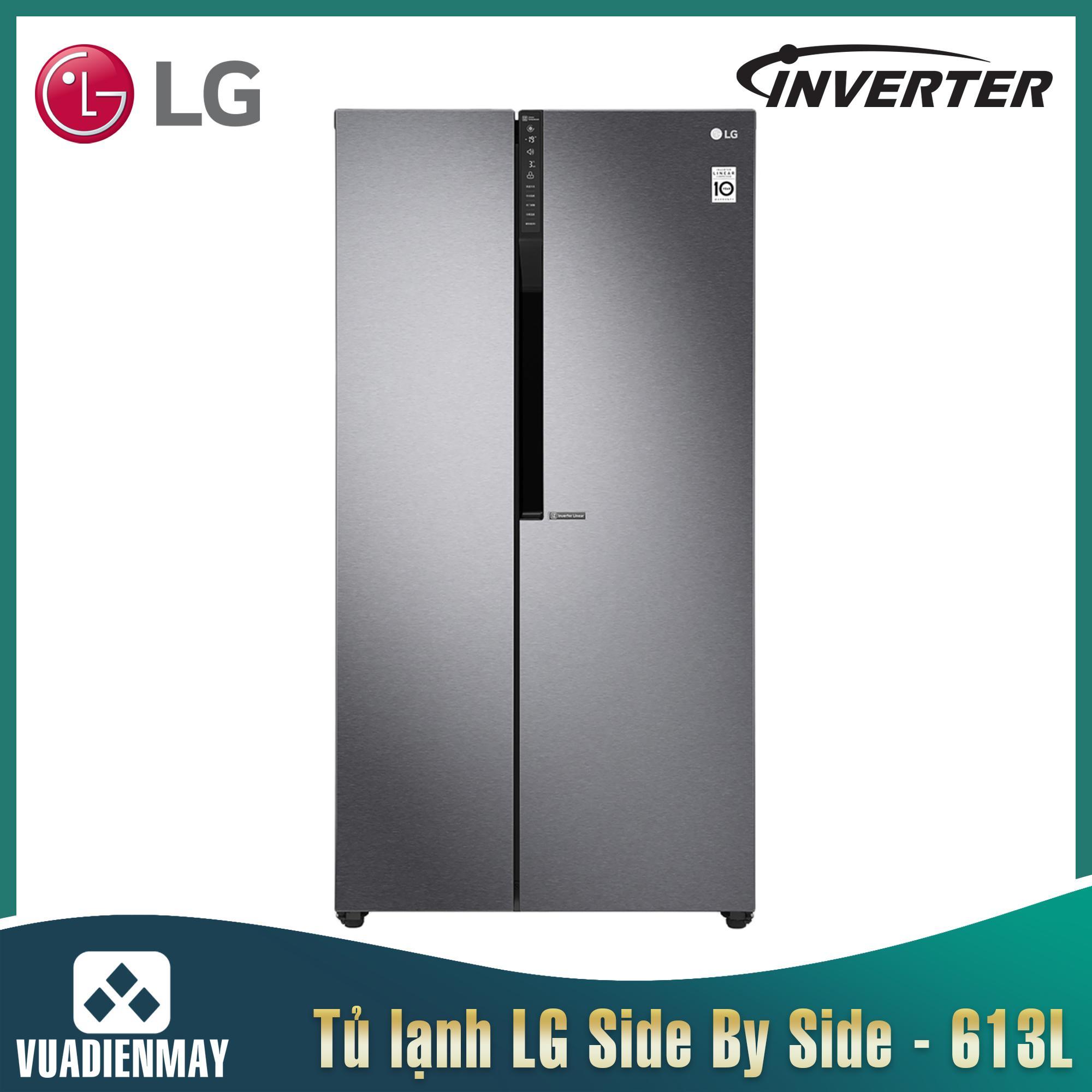 Tủ lạnh LG Side By Side Inverter 613 lít