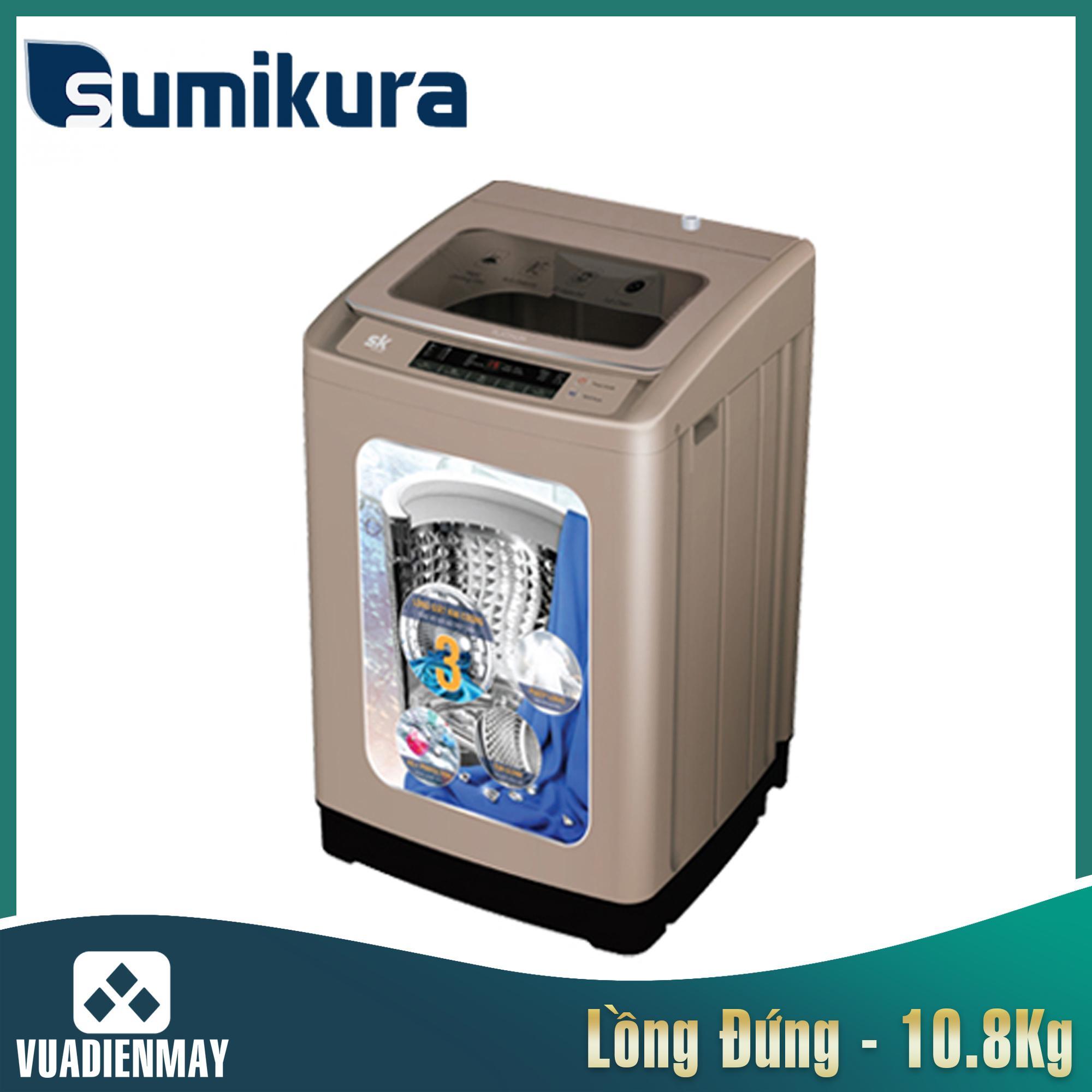 Máy giặt Sumikura  10.8 kg lồng đứng
