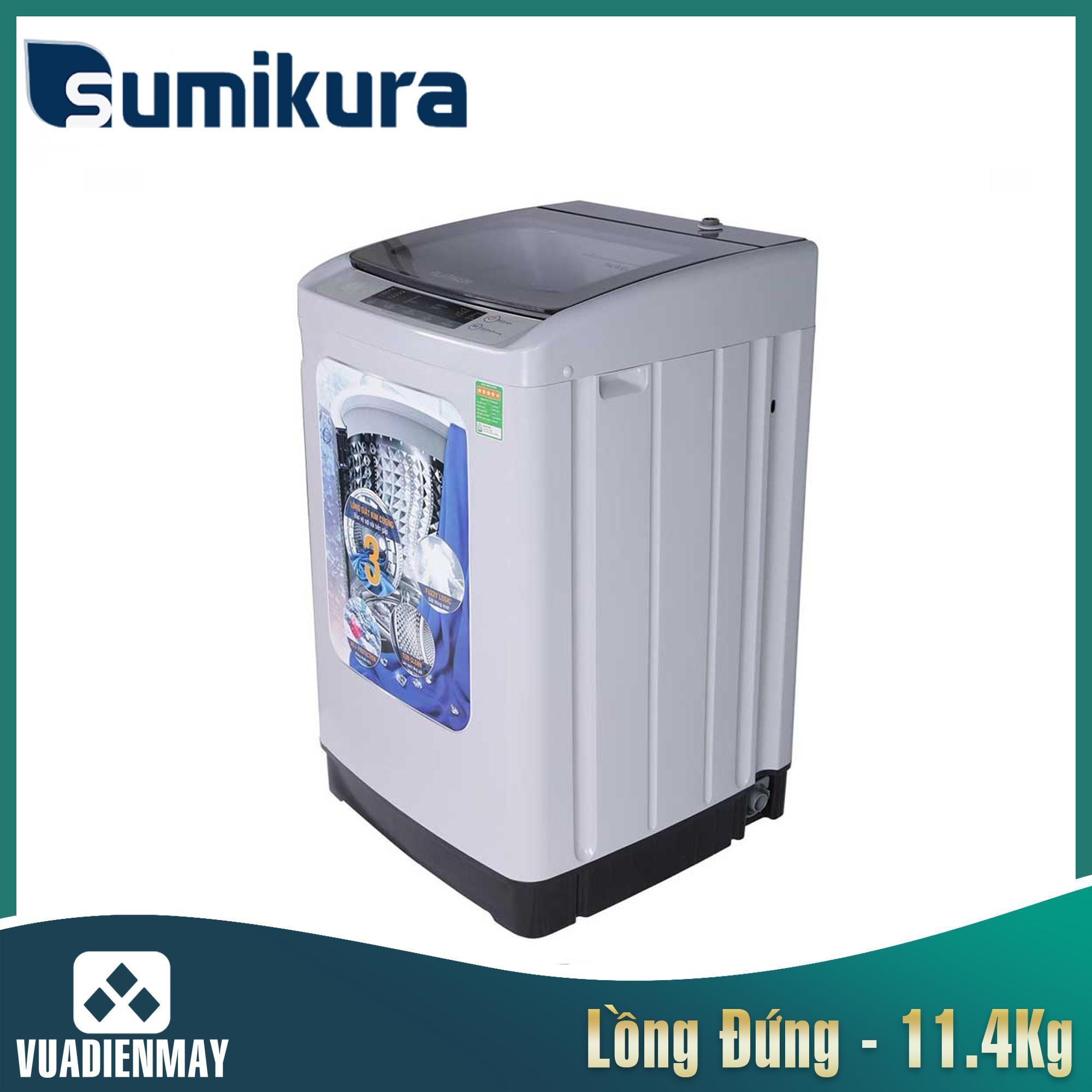 Máy giặt Sumikura  11.4kg lồng đứng
