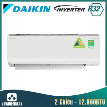 Điều hòa Daikin 12000BTU 2 chiều inverter