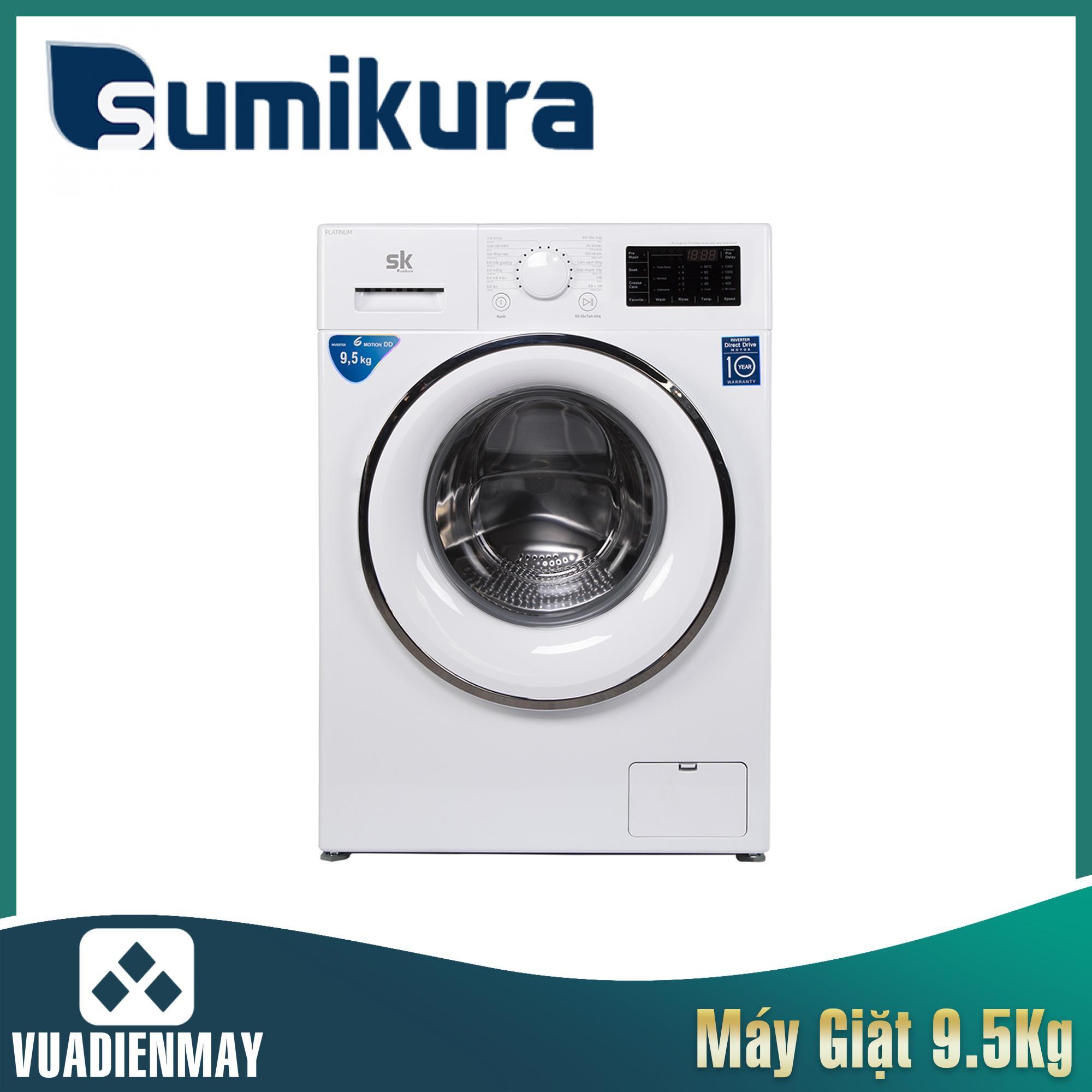 Máy giặt Sumikura  9.5kg lồng ngang
