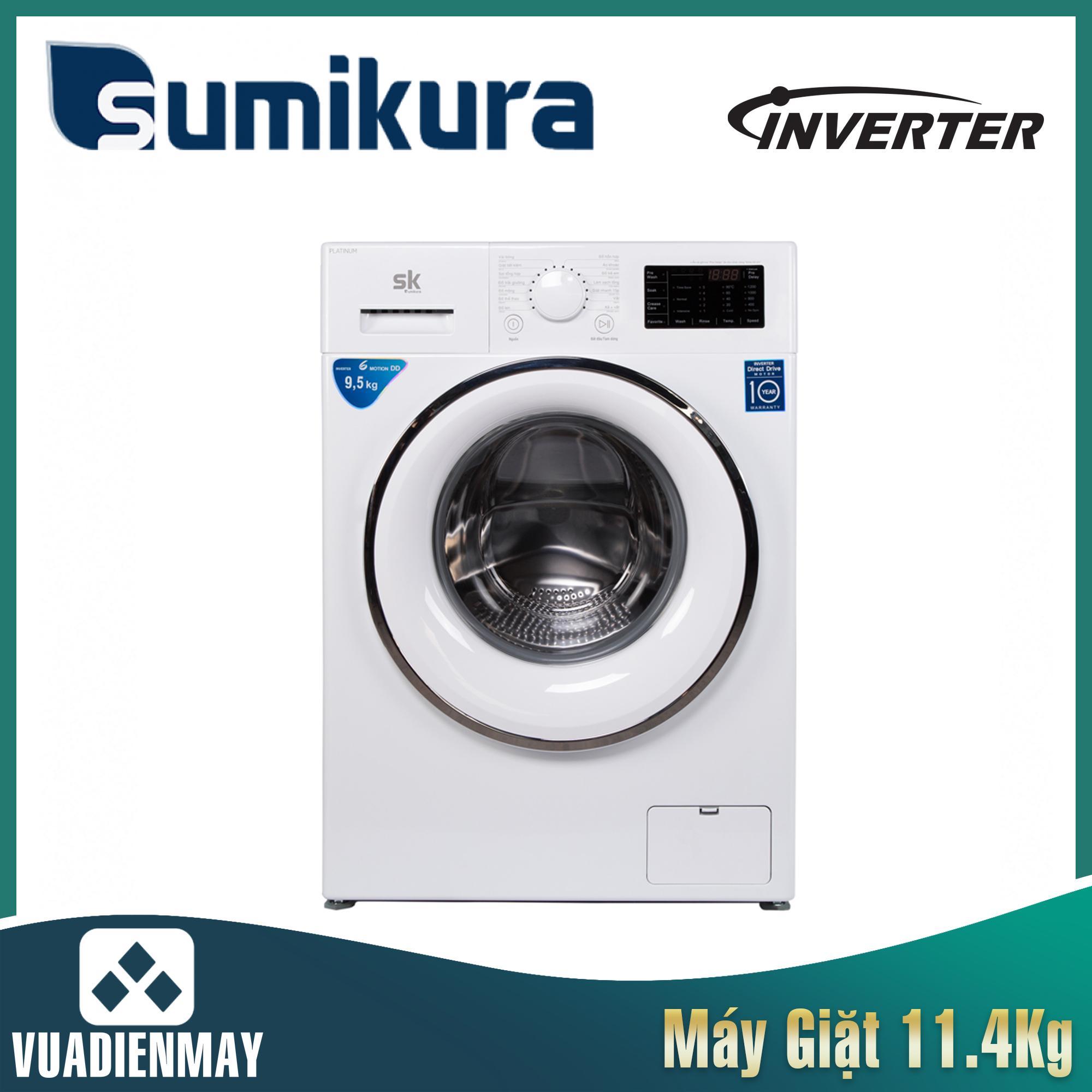 Máy giặt Sumikura  11.5kg lồng ngang