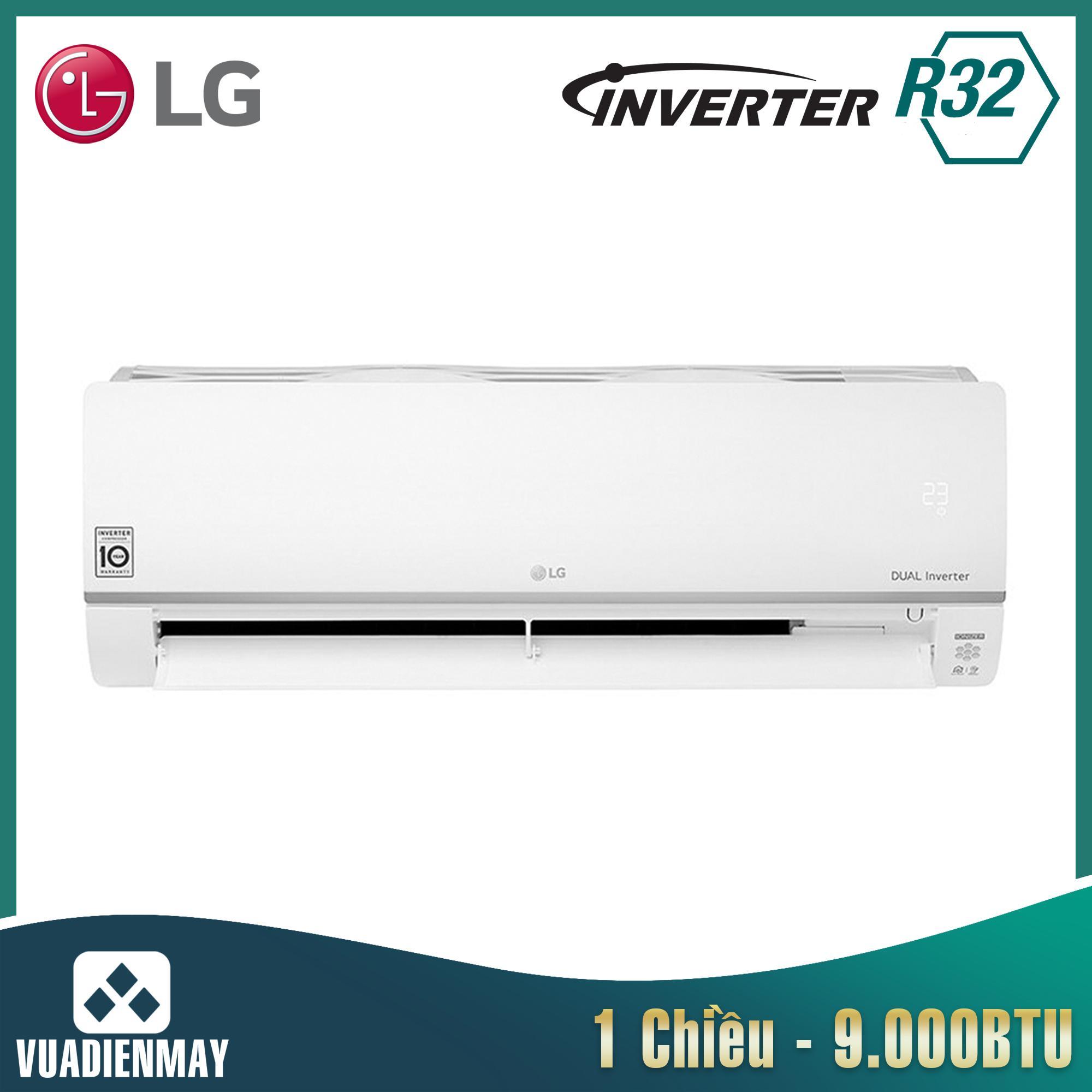 V10API1, Điều hòa LG 9000BTU 1 chiều Inverter Wifi
