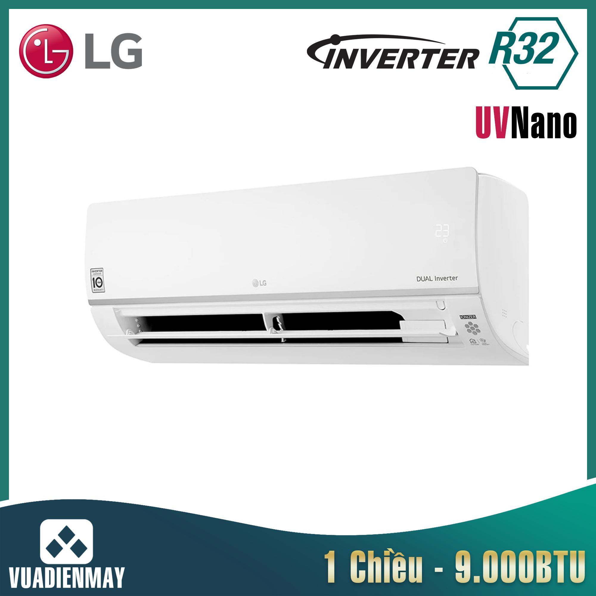 V10APIUV, Điều hòa LG 9000BTU 1 chiều Inverter UV Nano