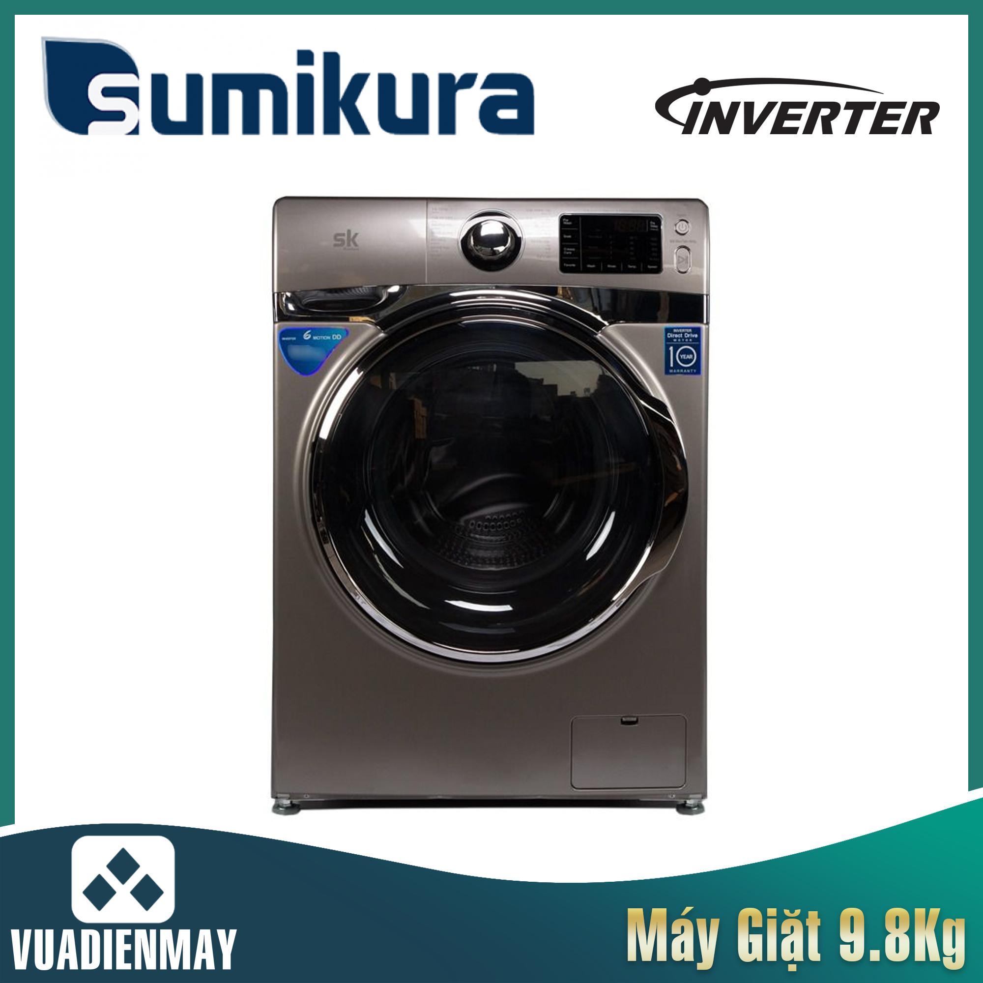 Máy giặt Sumikura  9.8kg lồng ngang