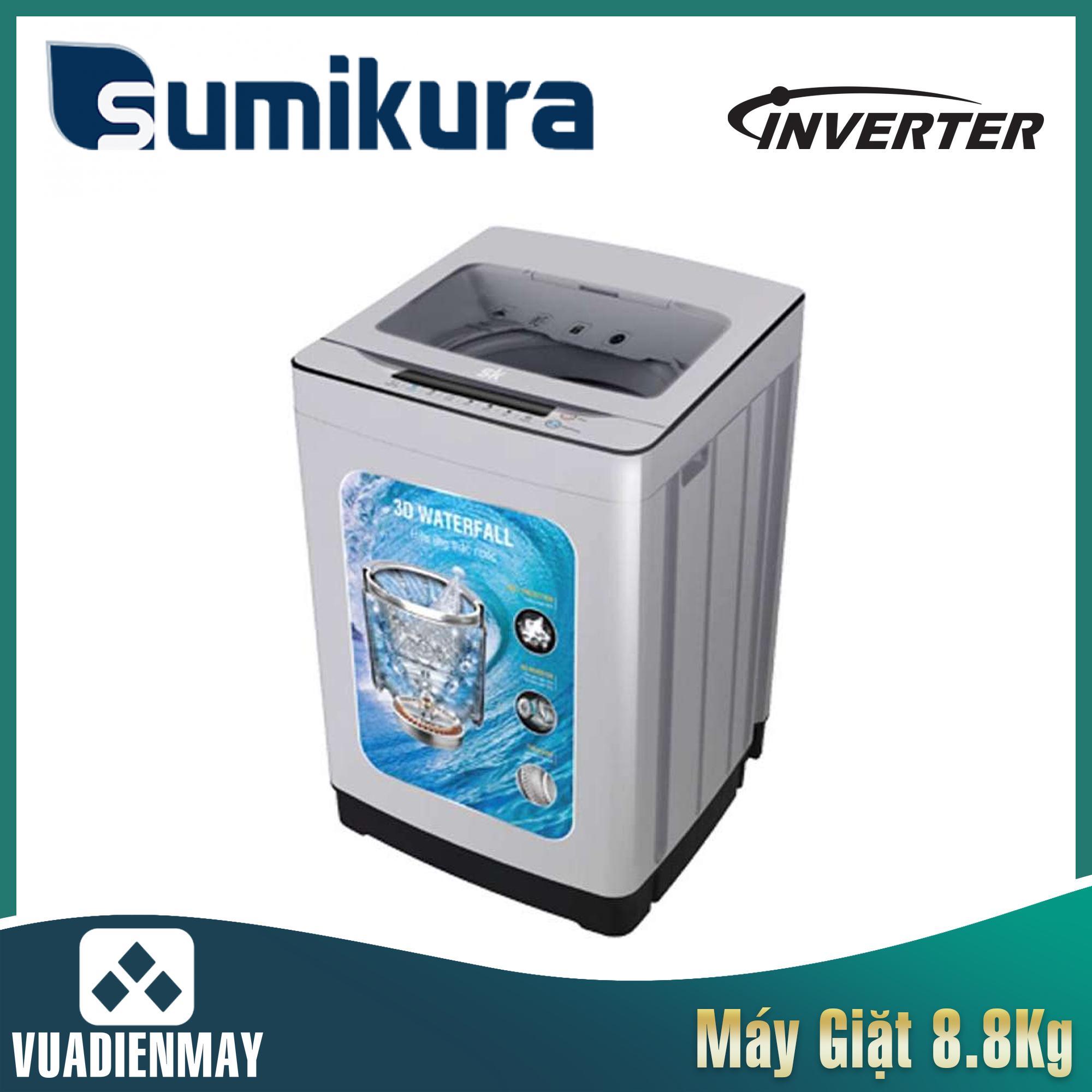 Máy giặt Sumikura  8.8kg lồng đứng Inverter