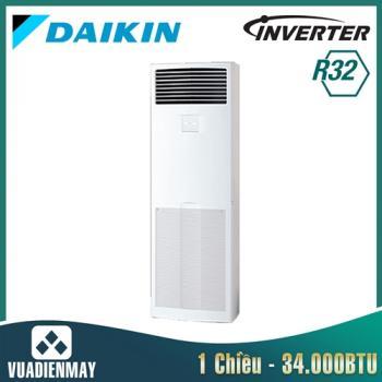 Điều hòa tủ đứng Daikin inverter 34.000BTU 1 chiều FVA100AMVM