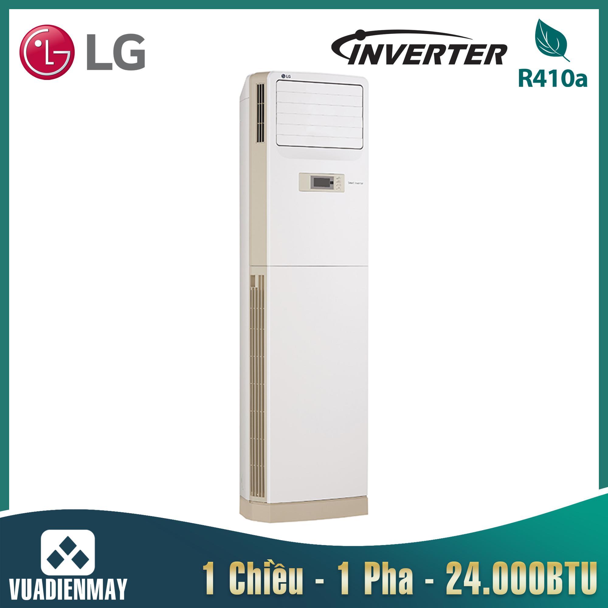 Điều hòa tủ đứng LG 24000BTU 1 chiều Inverter 1 pha