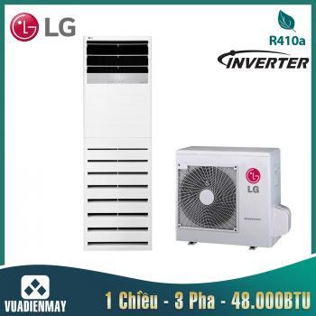 Điều hòa tủ đứng LG 48000BTU 1 chiều Inverter 3 pha gas R410A