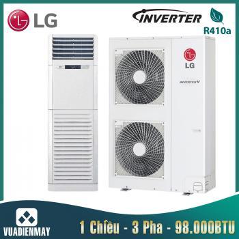 Điều hòa tủ đứng LG 98000BTU 1 chiều Inverter 3 pha