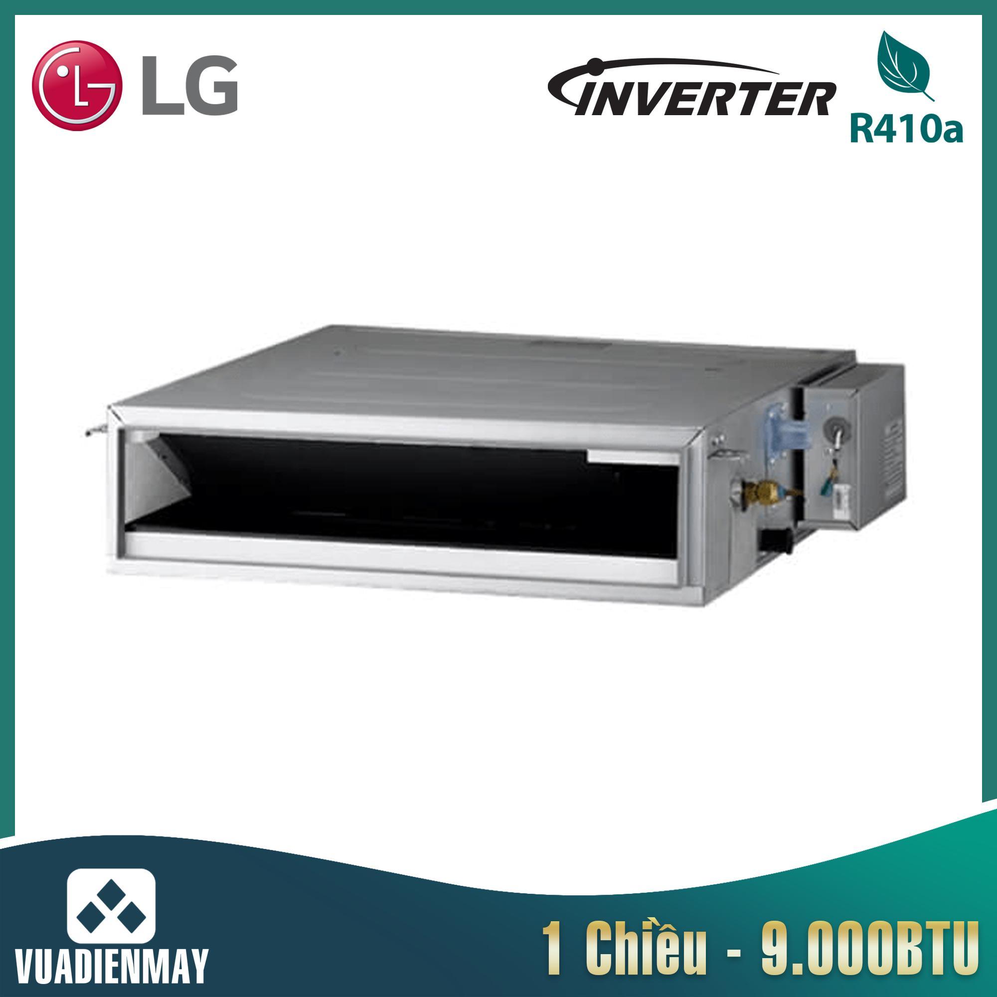 Điều hòa nối ống gió LG 9000BTU 1 chiều Inverter