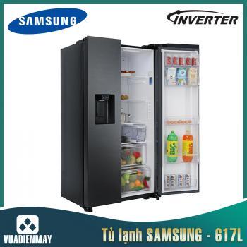 Tủ lạnh Samsung 617 lít Side by Side Inverter