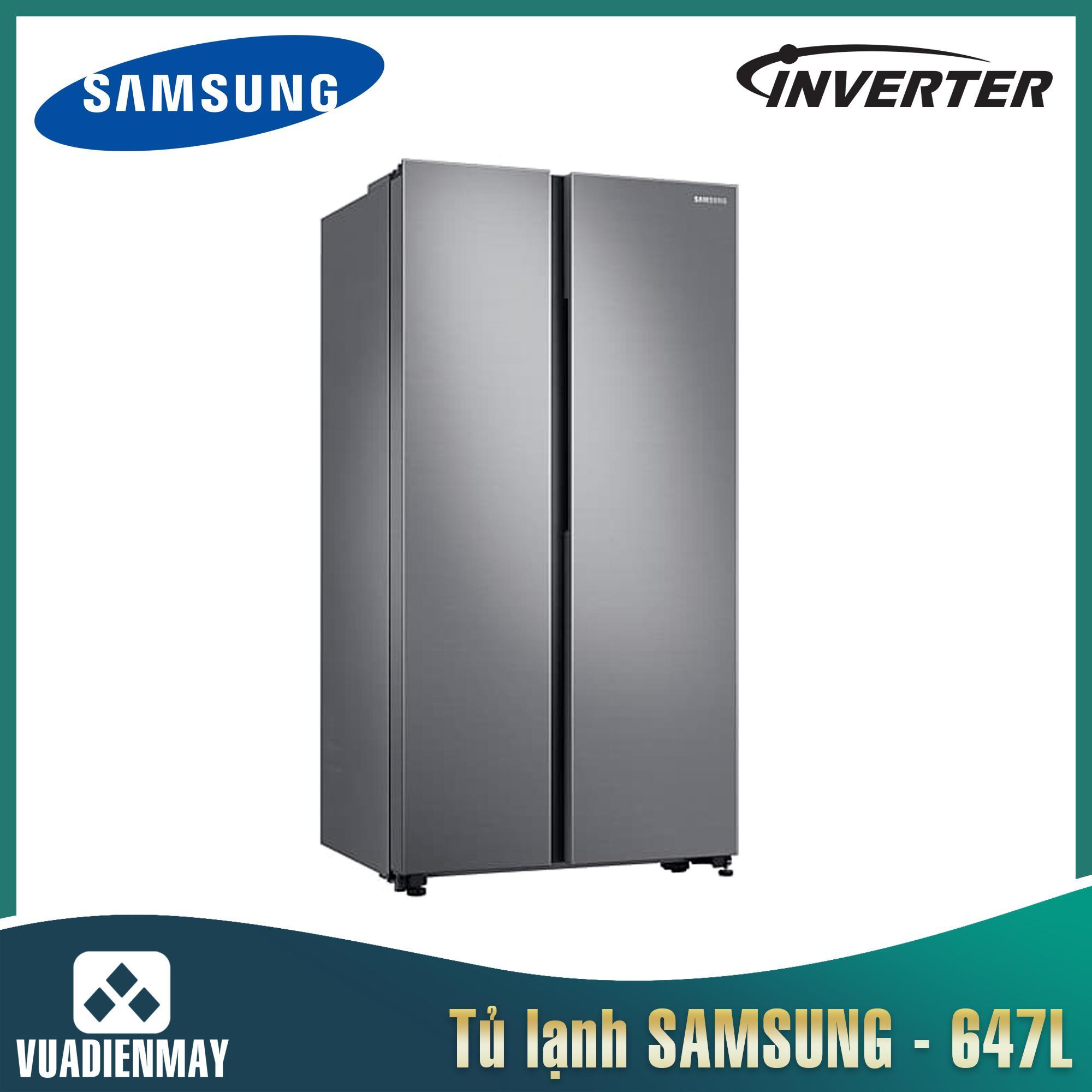 Tủ lạnh Samsung 647 lít Inverter Side by Side