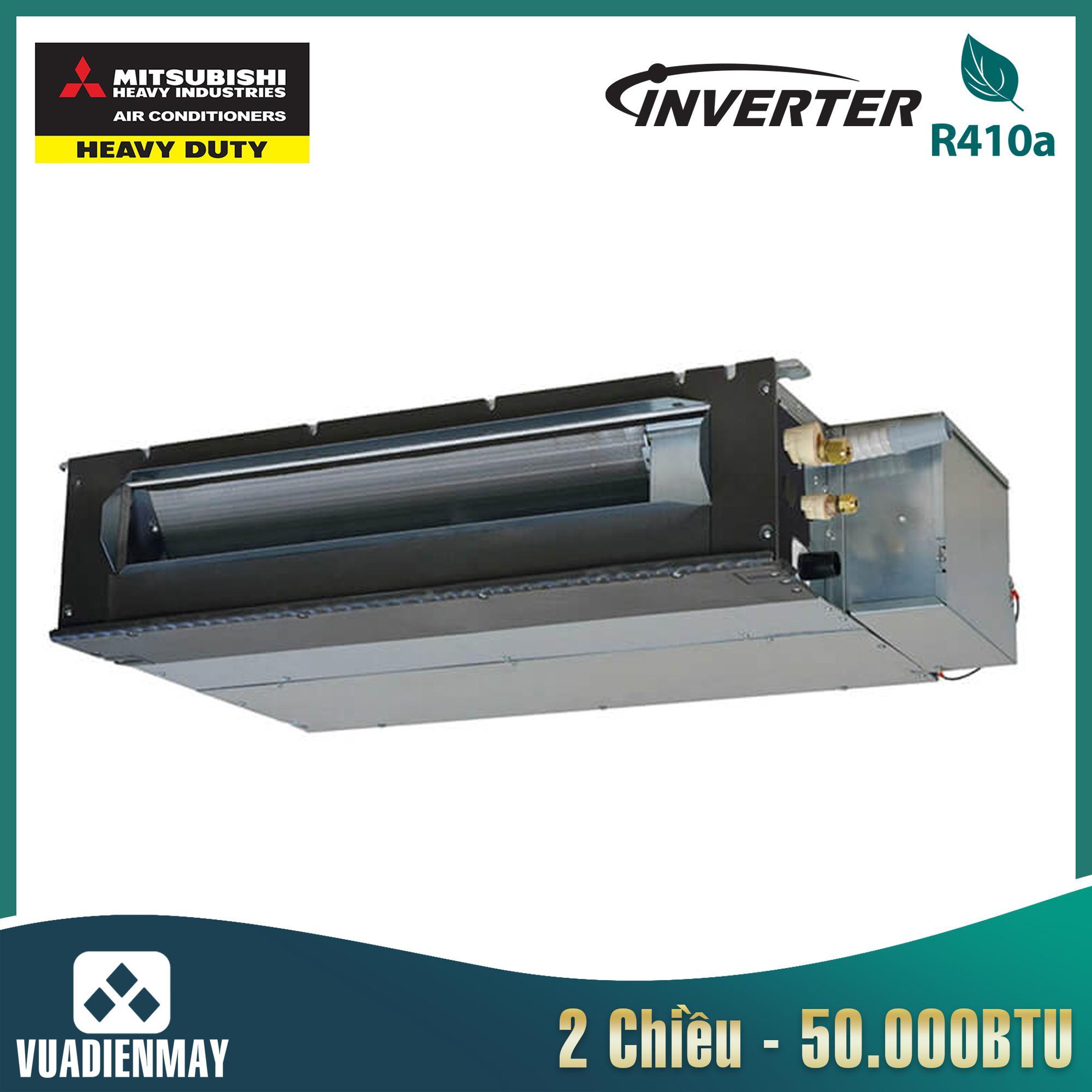 Điều hòa nối ống gió Mitsubishi Heavy 50000BTU Inverter 3 pha