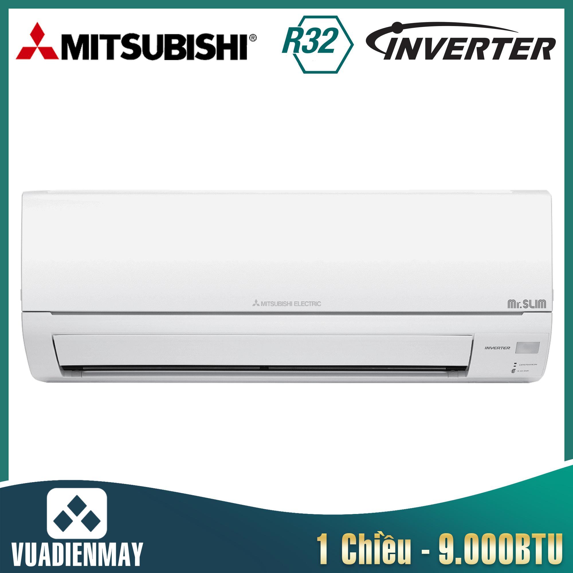 Điều hòa Mitsubishi Electric inverter 9.000BTU 1 chiều