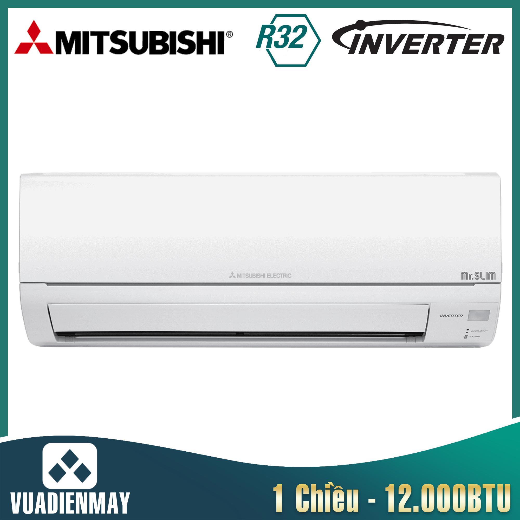 Điều hòa Mitsubishi Electric inverter 12.000BTU 1 chiều