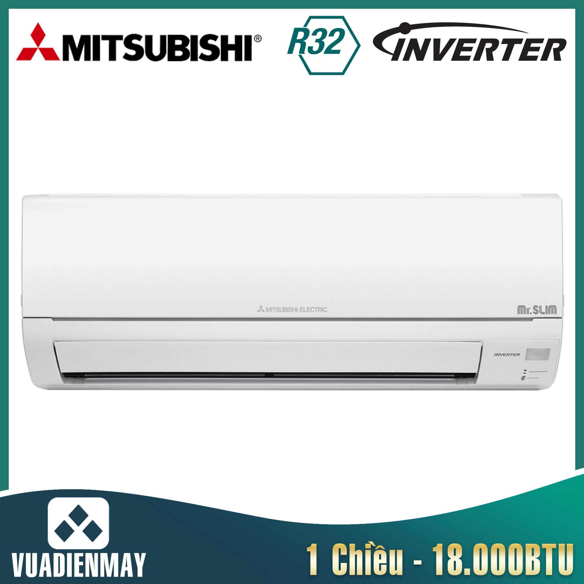 Điều hòa Mitsubishi Electric inverter 18.000BTU 1 chiều