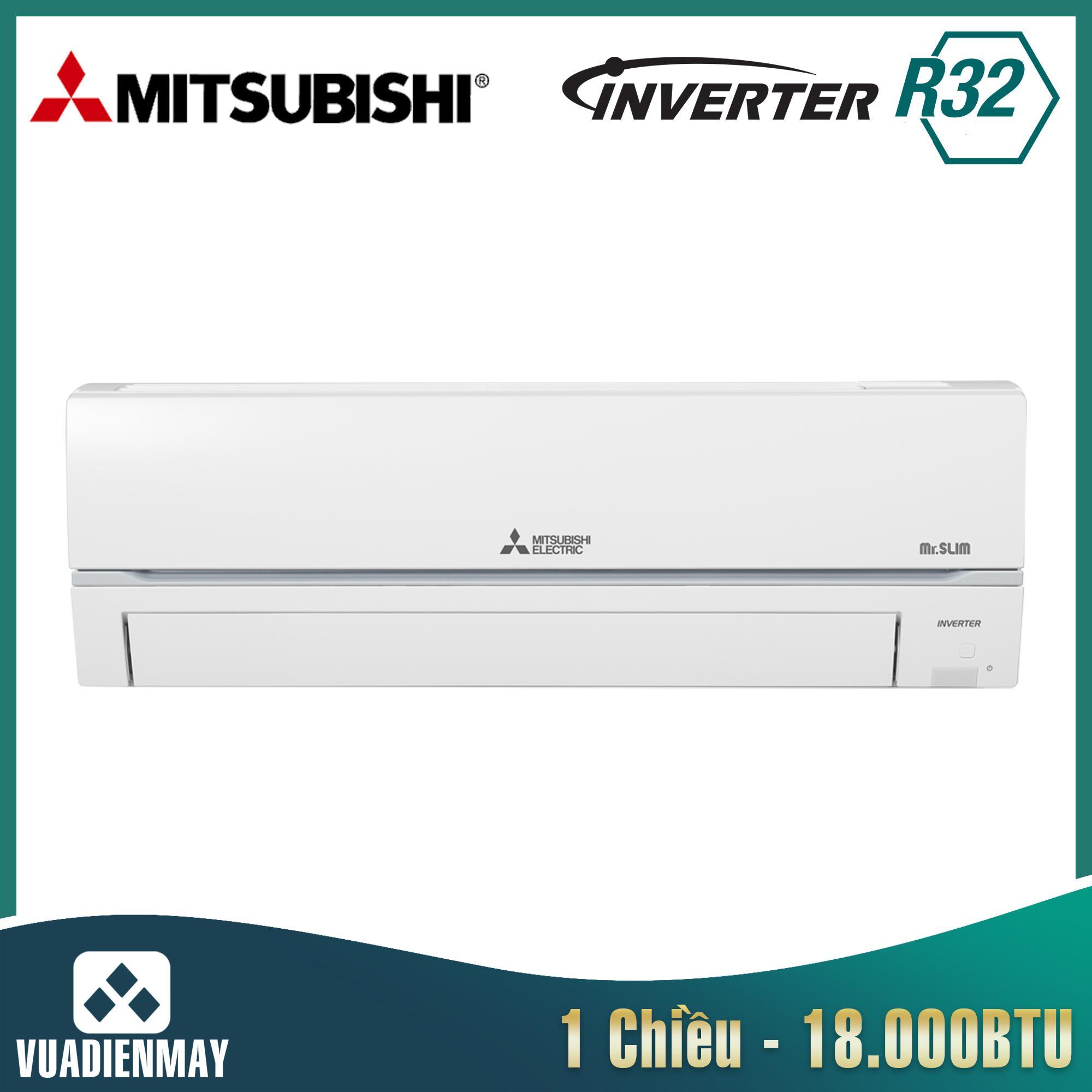 Điều hòa Mitsubishi Electric 18000BTU 1 chiều inverter