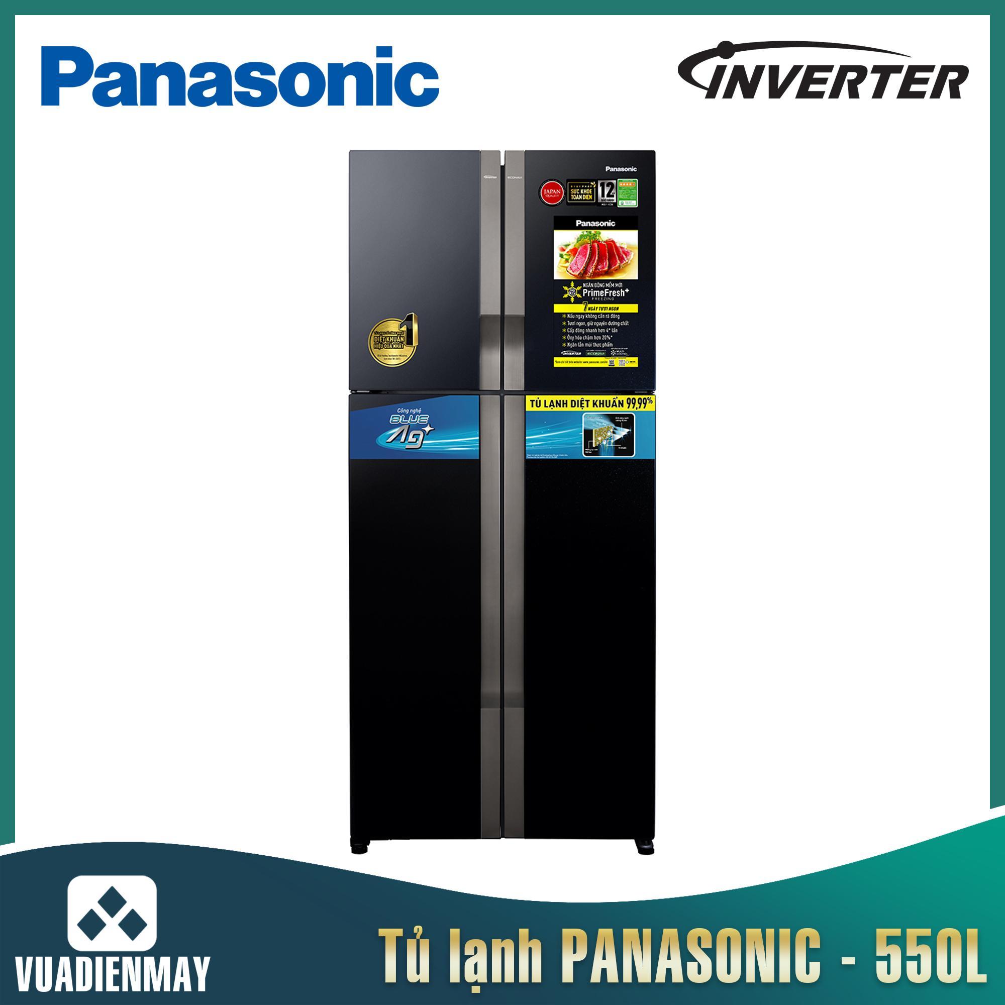 Tủ lạnh Panasonic 4 cửa Inverter 550 Lít