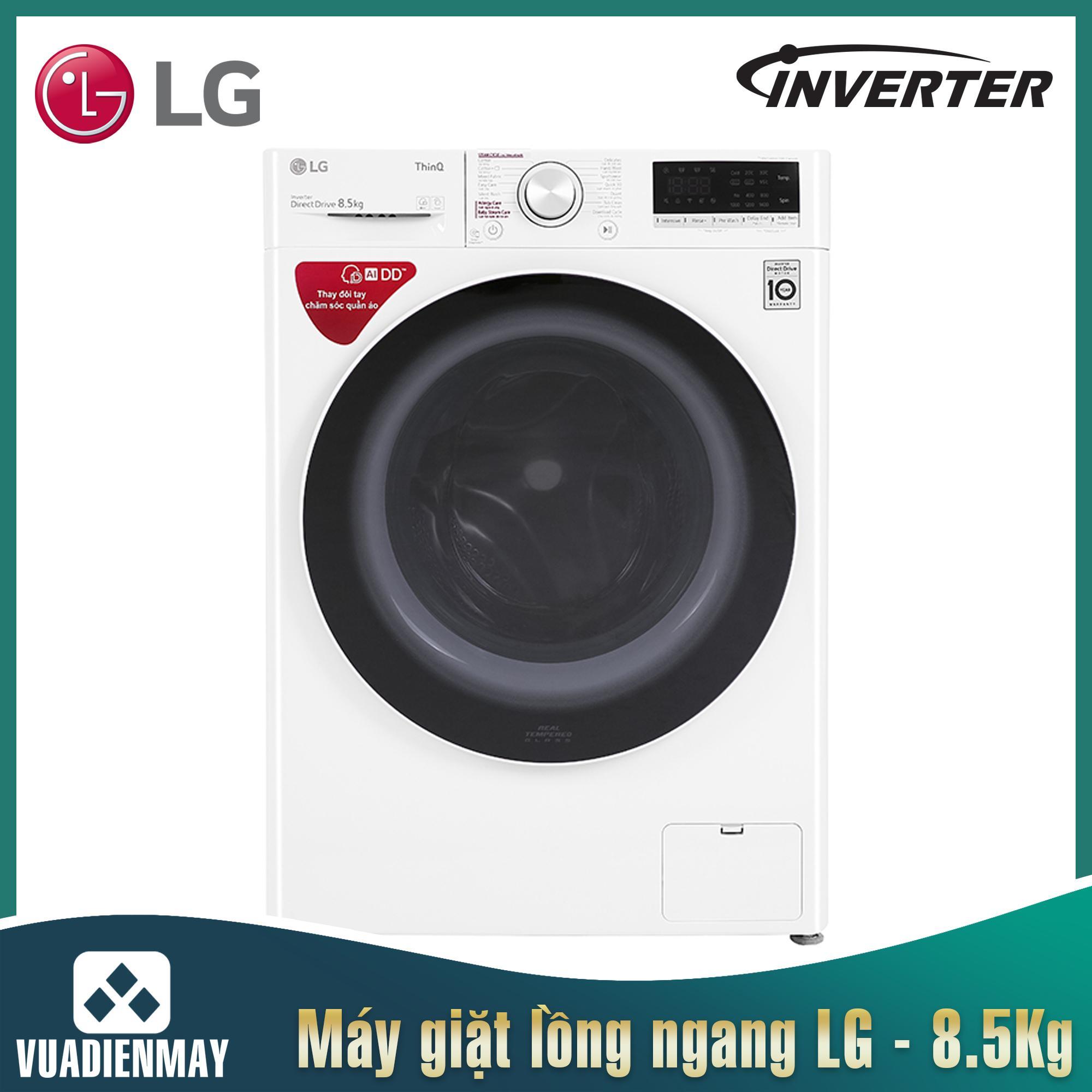 Máy giặt LG 8.5 Kg lồng ngang Inverter