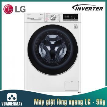 Máy giặt LG 9 Kg lồng ngang Inverter