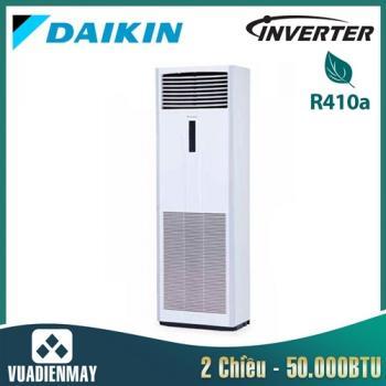 Điều hòa tủ đứng Daikin inverter 2 chiều 50.000BTU