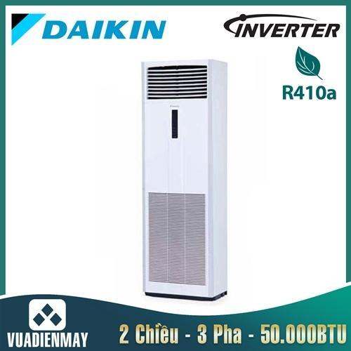 Điều hòa tủ đứng Daikin inverter 2 chiều 50.000BTU 3 pha