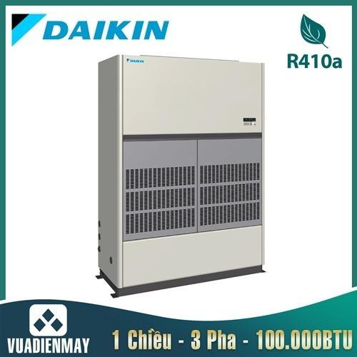 Điều hòa tủ đứng nối ống gió Daikin 1 chiều 100.000BTU