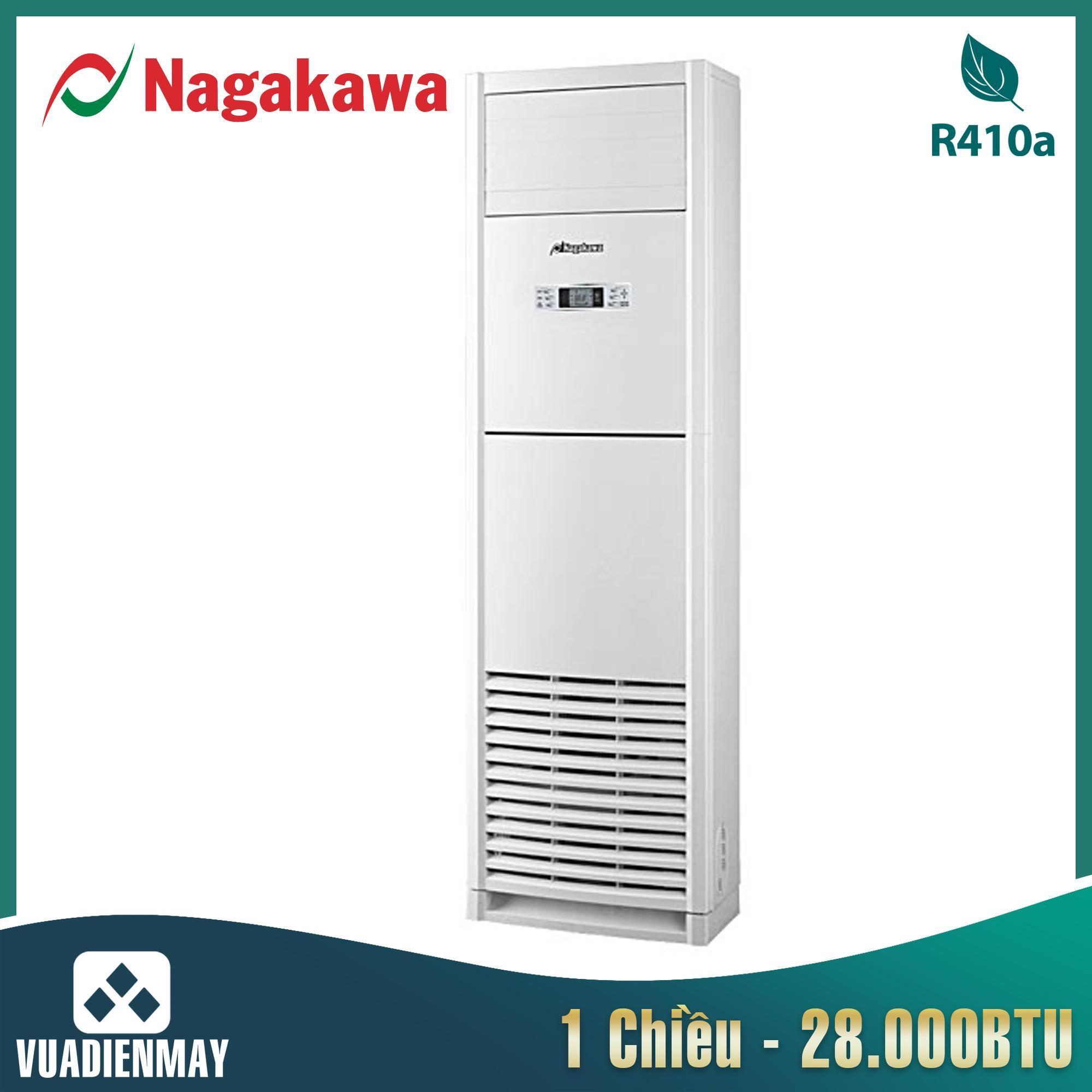 Điều hòa tủ đứng Nagakawa 28000BTU 1 chiều