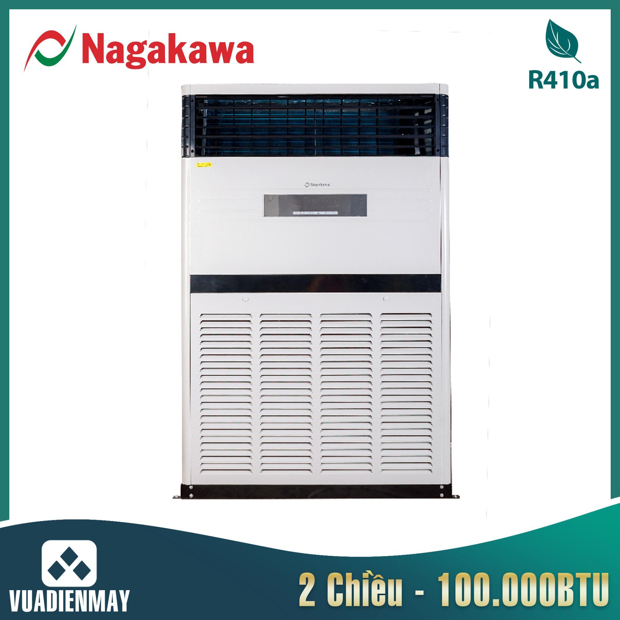 Điều hòa tủ đứng Nagakawa 2 chiều 3 pha 100.000BTU NP-A100DL