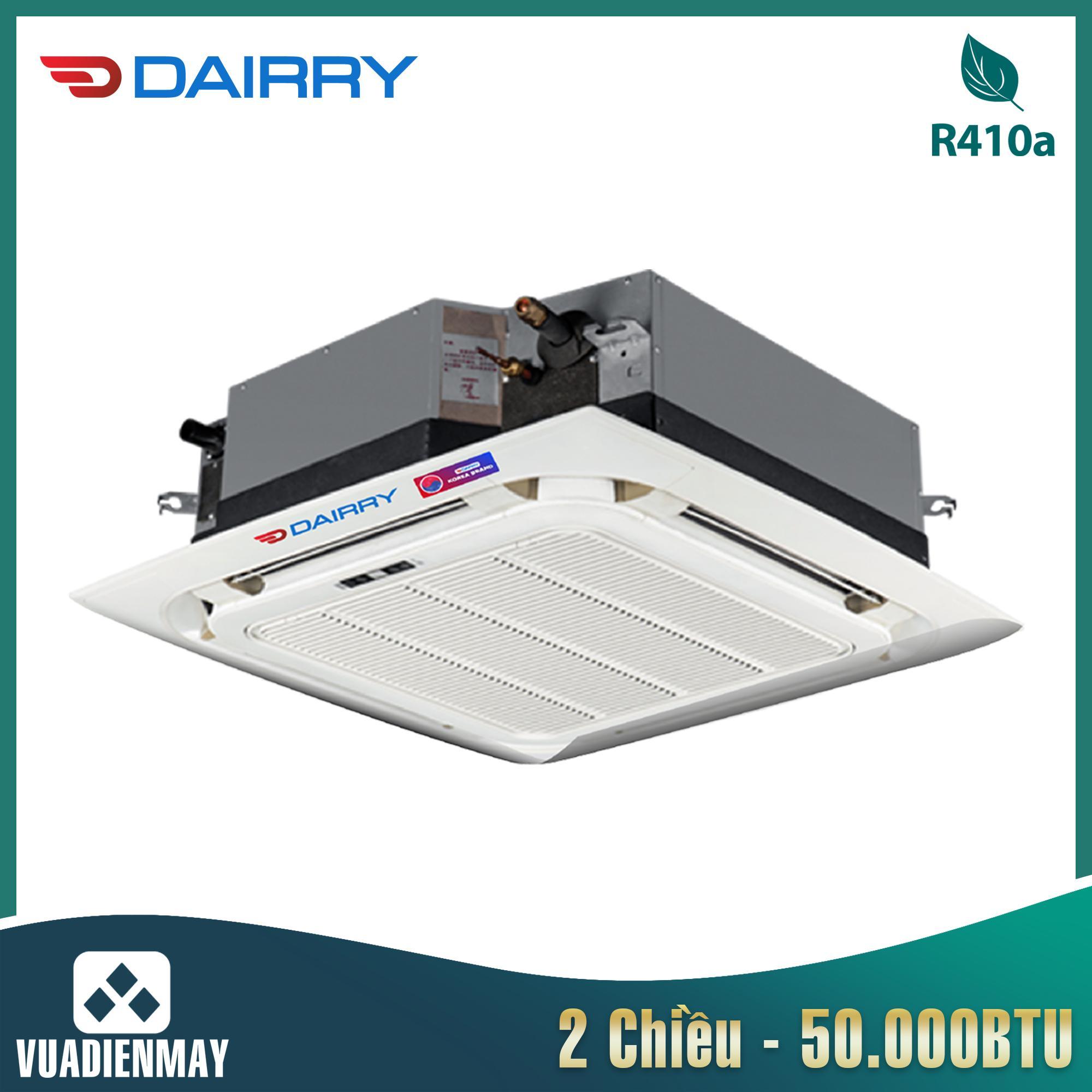 Điều hòa âm trần Dairry 50000BTU 2 chiều 3 pha