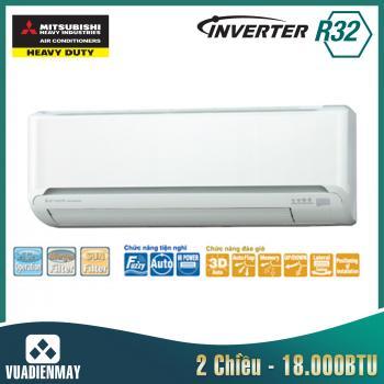 Dàn lạnh treo tường Mitsubishi Heavy 18000BTU 2 chiều Inverter