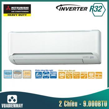 Dàn lạnh treo tường Mitsubishi Heavy 9000BTU 2 chiều Inverter